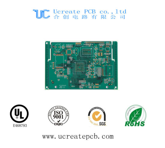 High Quality PCB for USB Flash Drive with Green Solder Mask