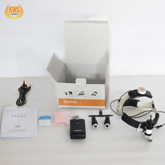 5W LED High Brightness Surgical Head Light & Magnification Loupe pictures & photos