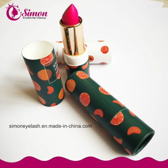 Hot Sale and Long Lasting Shimmer Moisturizing Factory Price Flavored Lipstick pictures & photos