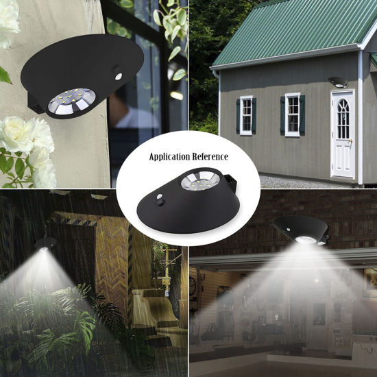 2W Wireless Mini Small Outdoor Solar Saving Yard Lamp pictures & photos