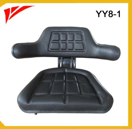 Wrapped Armrest Garden Tractor Parts Mower Seat