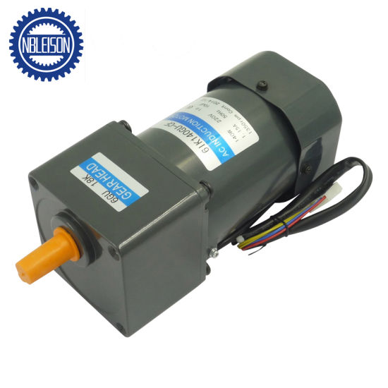 140W 220V AC Induction Geared Motor (6IK140) pictures & photos