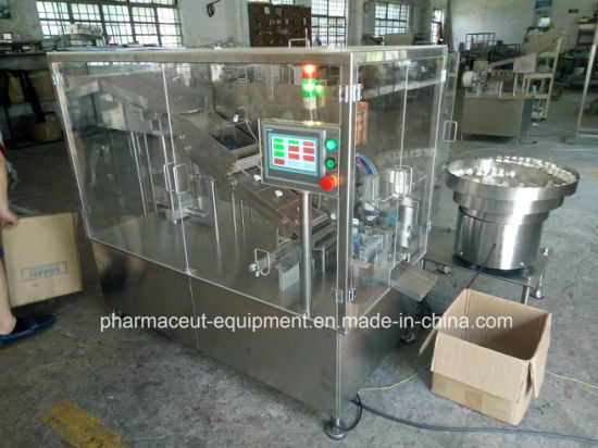 Effervescent Tablet Into Tube Counting Packing Machine with Glass Cover pictures & photos