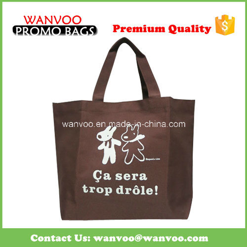 Low Price China OEM Non Woven Shipping Zipper Tote Bag pictures & photos