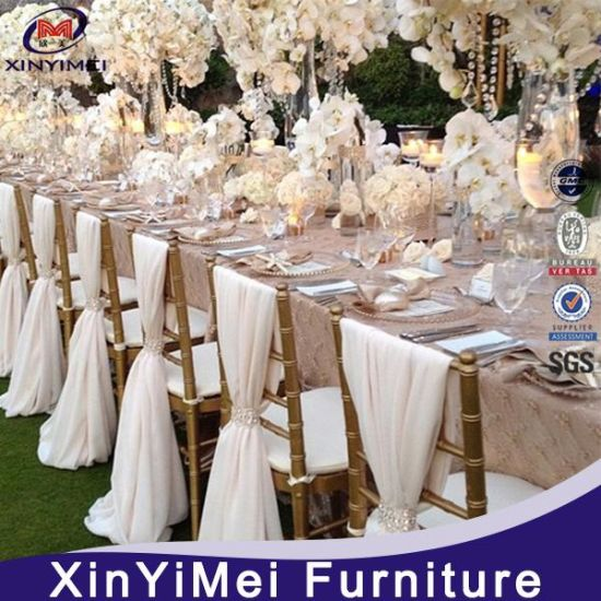 Cheap Price Aluminum Wedding Chiavari Tiffany Chair In Hotel Chairs, Restaurant  Chairs