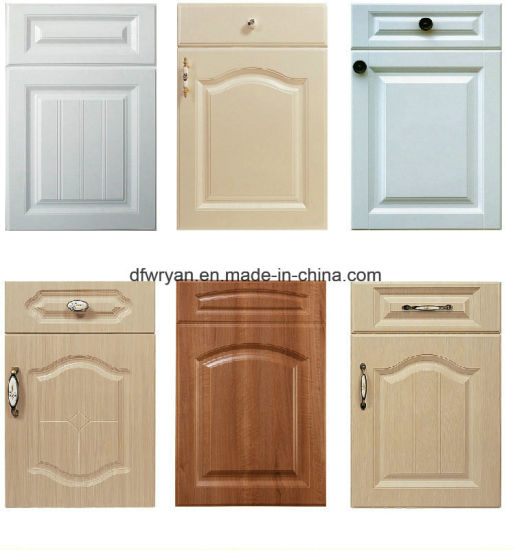 China High Quality Pvc Membrane Mdf Core Shaker Cabinet Door China
