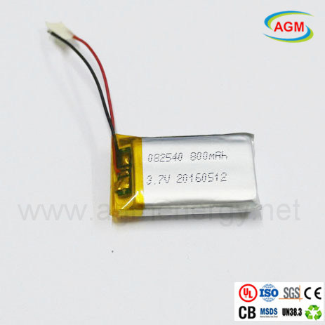 082540 800mAh 3.7V Polymer Lithium Battery for E-Toys pictures & photos