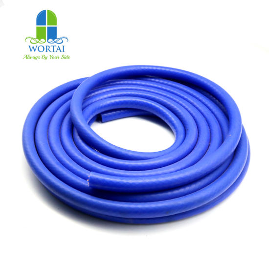 Smooth Surface Good Quality Fabric Reinforced Air Silicone Hose pictures & photos