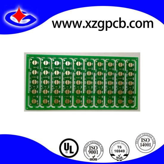 China 2-Layer Fr4 Small Size PCB with Routing Slot - China Routong