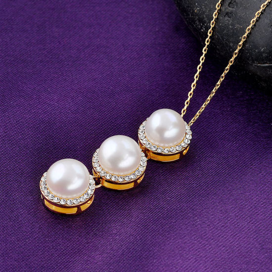 Wholesale New Design Fashion Jewelry Pendant Pearl Necklace pictures & photos