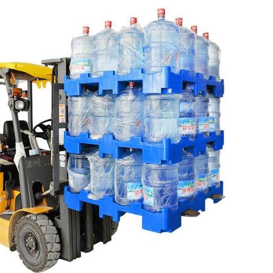 5 Gallon Water Bottle Plastic Rack Pallet for Plastic Bottle