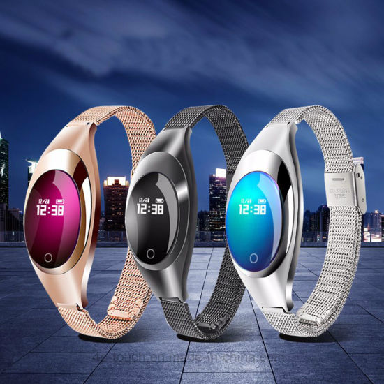 Elegant Wristband Bluetooth Smart Bracelet with Fitness Tracking Z18 pictures & photos