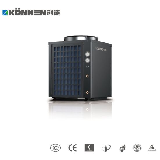 Air to Water Heat Pump with R134A for High Water Temperature