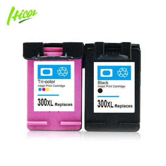 Hicor Hot Sale for European Market 300 Ink Cartridge Compatible 300XL Inkjet Cartridge for HP