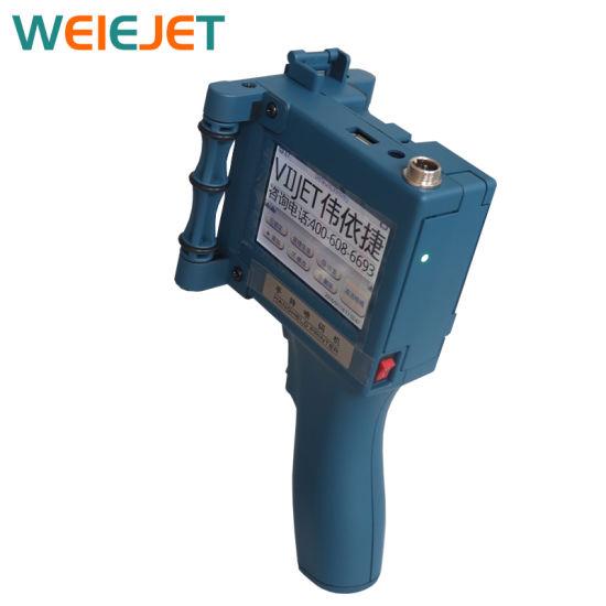 V5 Handheld Inkjet Printer/Inkjet Marking Machine for Date Qualified Bar Code Machine/Carton/PVC/Paper/Boxes/Carton