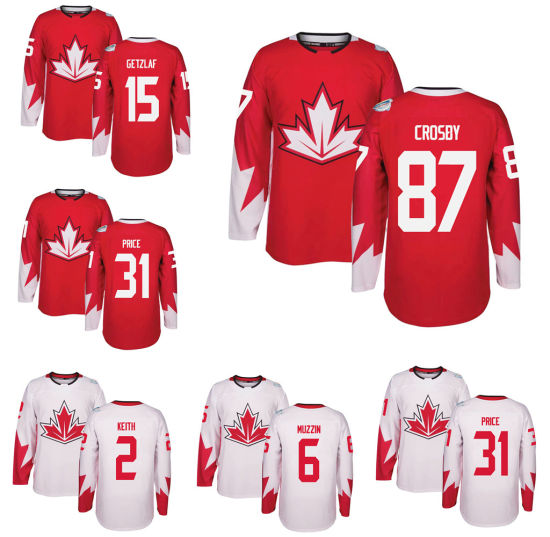 Pittsburgh Sidney Crosby Carey Price World Cup of Hockey Jersey