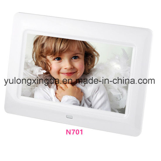 LED LCD 7 Inch Digital Photo Frame with Video Music Photos Playback