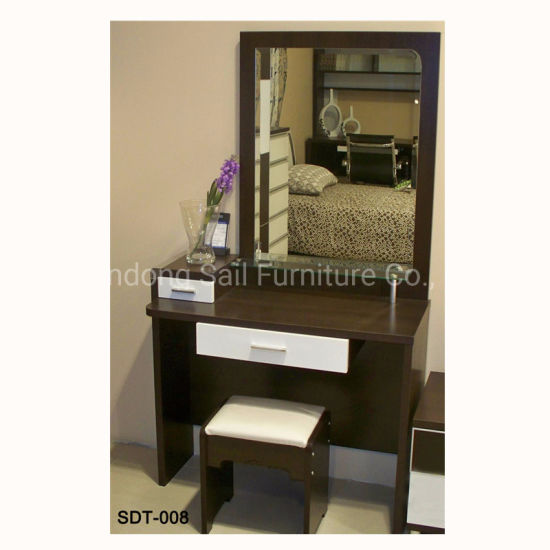 China Bedroom Furniture Wood Vanity Dresser - China Dresser ...