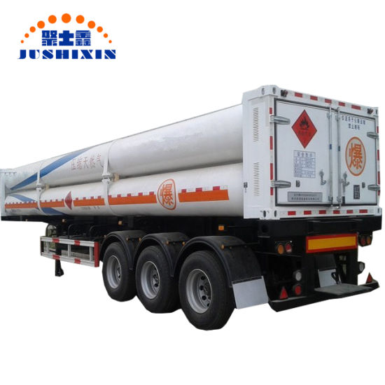 Carriage Natural Gas Semi Trailer 40000L CNG Gas Tube Trailer for Sale