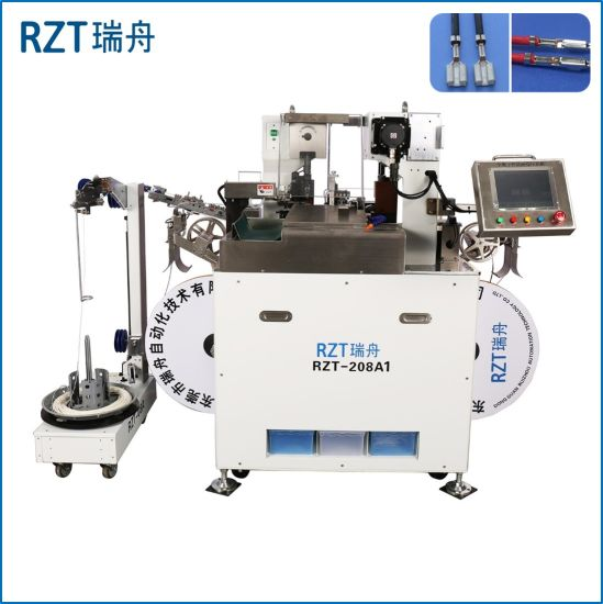 China Automatic Double-End Terminal Crimping Machine for ... on