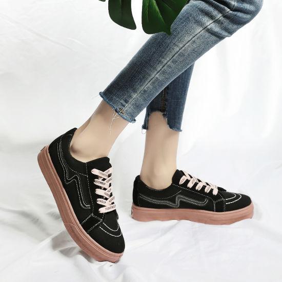 Cheap Ladies Sneaker Wholesale Rubber