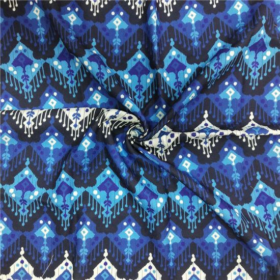 100%Polyester Printed Fabric for Coat Fashion Wear