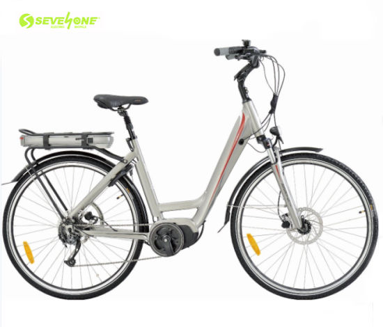 Wholesale Aluminum Frame City Electric Scooter or Electric Bicycle with Middle Motor