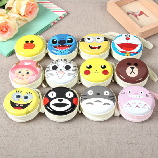 Creative Cartoon Animation Around The Toy Wallet Cute Plush Doll Wallet pictures & photos