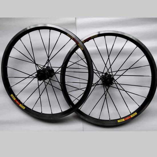 """20"""" Aluminum Mountain Bike Wheelset, 20 Inch MTB Wheels Disc/V Brake"""