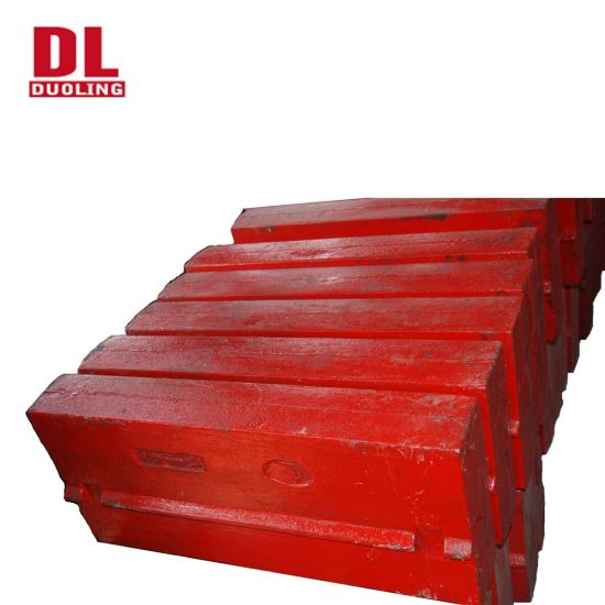 Duoling High Chrome Impact Crusher Spare Parts Blow Bars