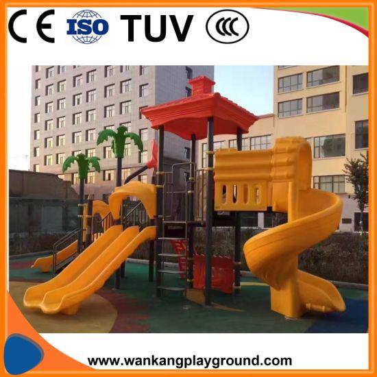 Children Playground Equipment Outdoor Castle Park Bd-A190210b