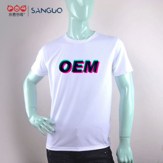 Customized European Size Cheap Plain 100 Cotton T Shirt for Advertising