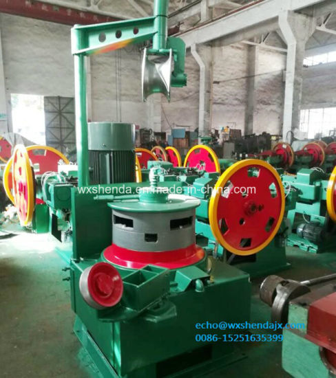 Wire Pointing Rolling Machine for Automatic Copper Steel Nail Wire Drawing Machine Price pictures & photos