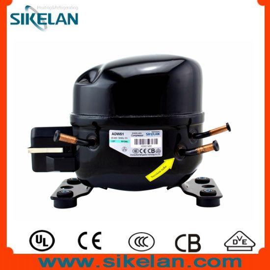 AC Compressor Ms-Adw51 R134A 220V 1/6HP Lbp Use in Refrigerator/Freezer