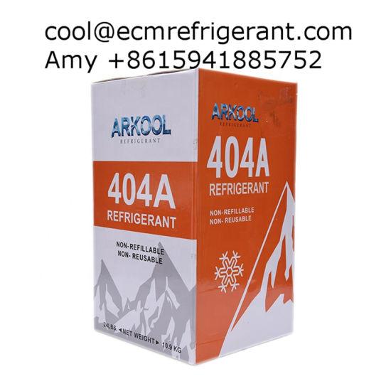 Refrigerant Gas R-404A, Mixed R-404A