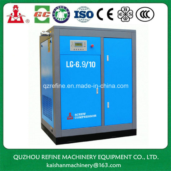 Kaishan LG-6.9/10 60HP 10bar Stationary A/C Screw Air Compressor pictures & photos