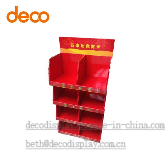 China greeting card cardboard floor display paper display shelf for greeting card cardboard floor display paper display shelf for retail m4hsunfo