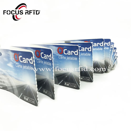 Christmas Folded RFID Paper Card for Event Ticket