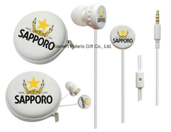 Promotion 3.5mm Stereo Sport in-Ear Earphone with Branded Logo pictures & photos