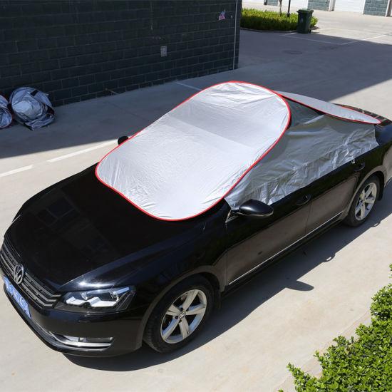 Wholesale Car Window Shade Auto Parts Waterproof Silver Folding Sunproof Universal Car Umbrella