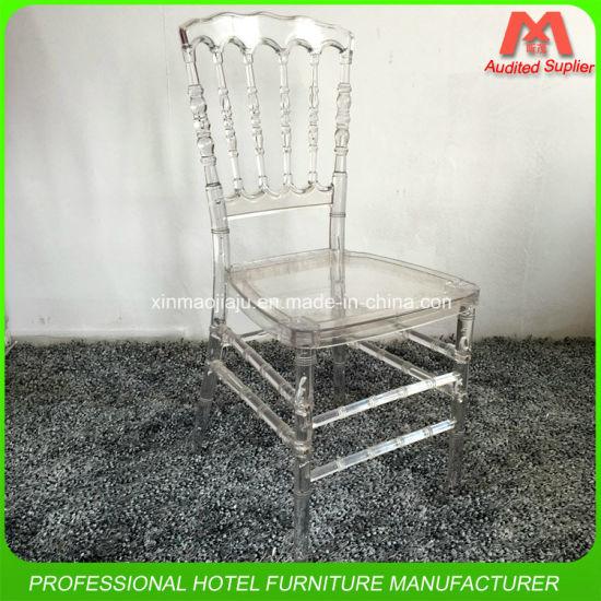 Popular Design Good Quality Colourful Acrylic Napoleon Dining Chair