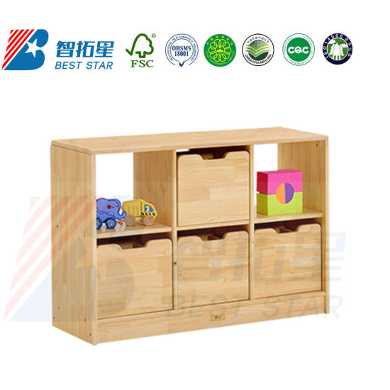 China Playroom Furniture Toy Cabinet, Children Care Center