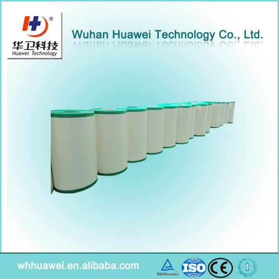 Medical Adhesive PU Film with Finger Lift. Surgical Incisive Wound Dressing. Medical Raw Material Surgical Wound Dressing