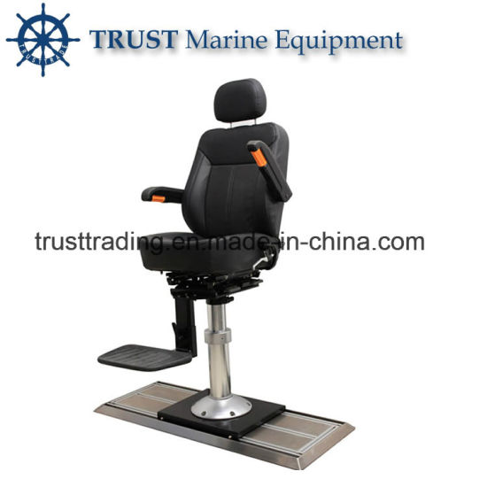 China Factory Supply Slide Rail Type Marine Captain Chair pictures & photos