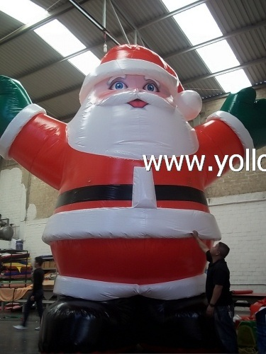 new arrival huge inflatable santa claus christmas decoration - Huge Inflatable Christmas Decorations