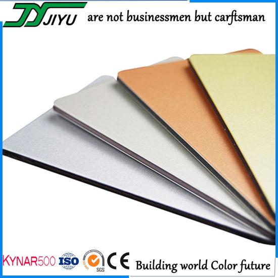 4mm Exterior Wall Cladding LDPE Core Aluminum Composite Panel