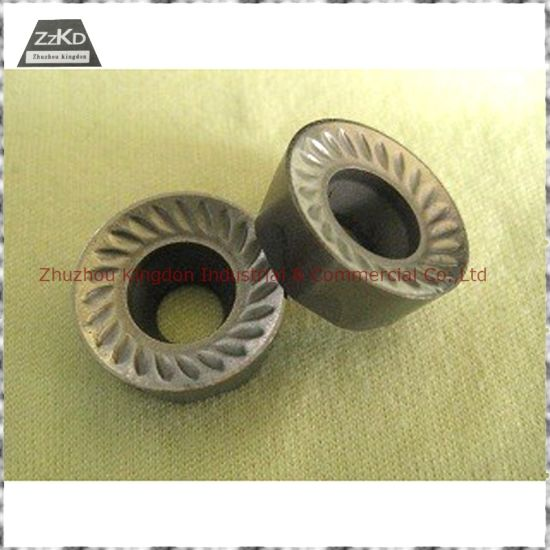 Tungsten Carbide Milling Inserts/Carbide Indexable Turning Milling Inserts with CVD PVD Coating pictures & photos