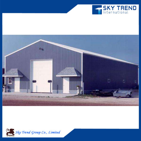 Prefabricated High Quality Steel Frame Construction Factory Building Steel Structure Warehouse pictures & photos