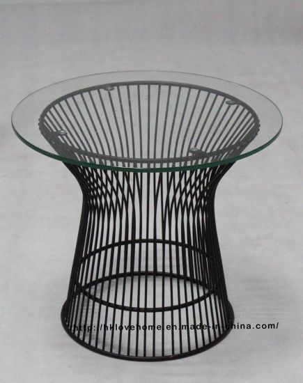 Clic Leisure Restaurant Dining Furniture Metal Wire Gl Side Table