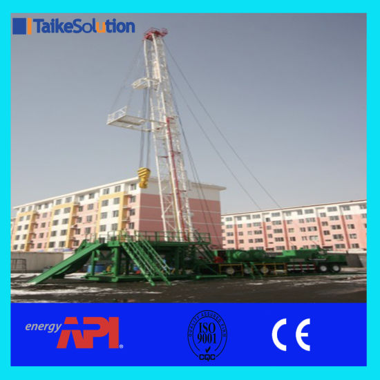 China API Standard Oil Field Oil and Gas Well Truck Mounted